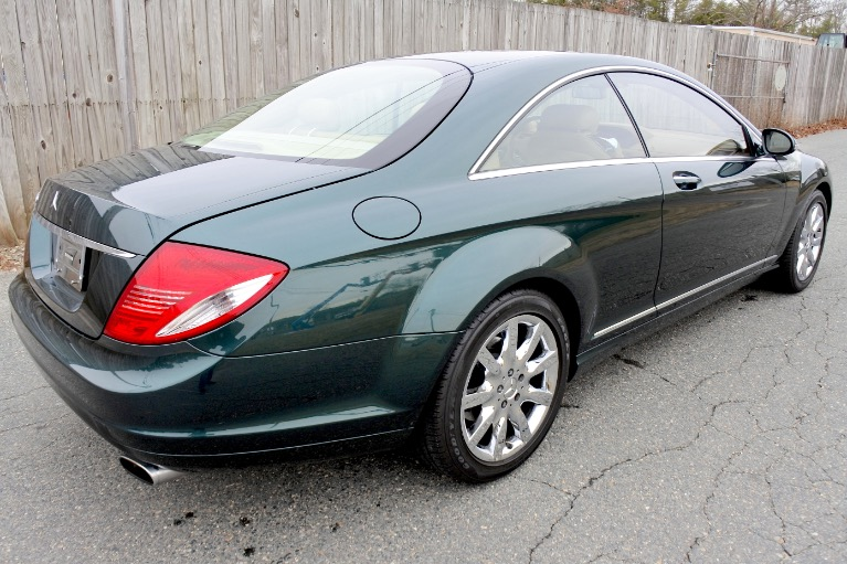 Used 2007 Mercedes-Benz Cl-class 550 5.5L V8 Used 2007 Mercedes-Benz Cl-class 550 5.5L V8 for sale  at Metro West Motorcars LLC in Shrewsbury MA 5