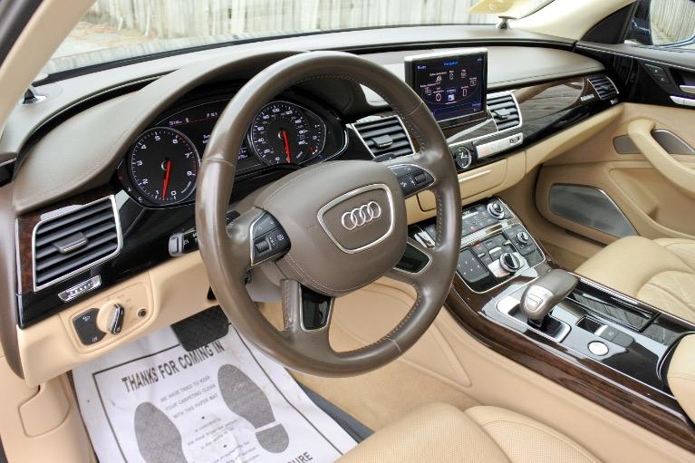 Used 2013 Audi A8 l 4.0L Quattro Used 2013 Audi A8 l 4.0L Quattro for sale  at Metro West Motorcars LLC in Shrewsbury MA 13