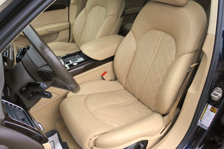 Used 2013 Audi A8 l 4.0L Quattro Used 2013 Audi A8 l 4.0L Quattro for sale  at Metro West Motorcars LLC in Shrewsbury MA 14