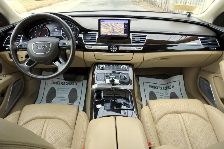 Used 2013 Audi A8 l 4.0L Quattro Used 2013 Audi A8 l 4.0L Quattro for sale  at Metro West Motorcars LLC in Shrewsbury MA 9