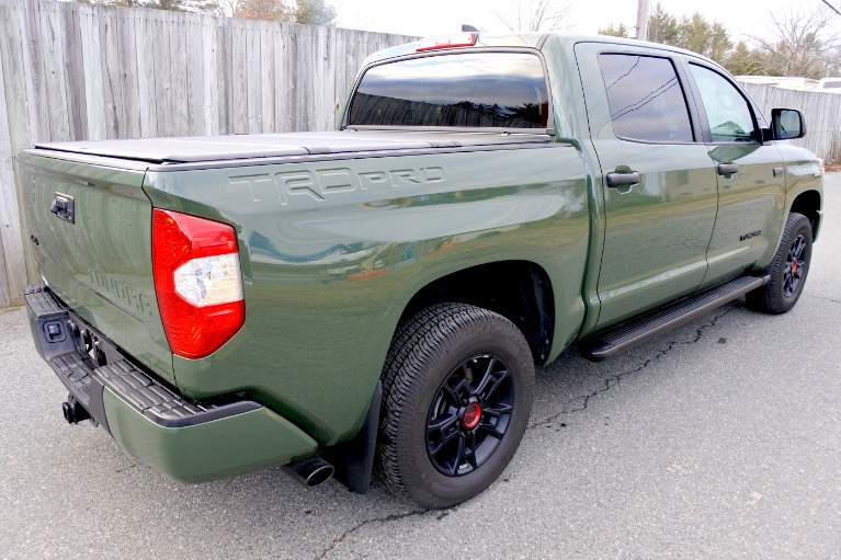 Used 2020 Toyota Tundra 4wd TRD Pro CrewMax 5.5'' Bed 5.7L Used 2020 Toyota Tundra 4wd TRD Pro CrewMax 5.5'' Bed 5.7L for sale  at Metro West Motorcars LLC in Shrewsbury MA 5
