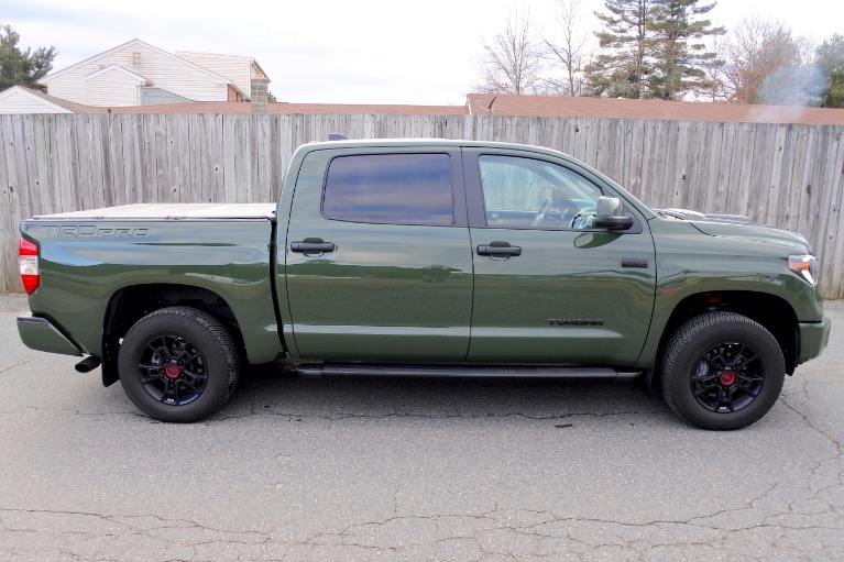 Used 2020 Toyota Tundra 4wd TRD Pro CrewMax 5.5'' Bed 5.7L Used 2020 Toyota Tundra 4wd TRD Pro CrewMax 5.5'' Bed 5.7L for sale  at Metro West Motorcars LLC in Shrewsbury MA 6