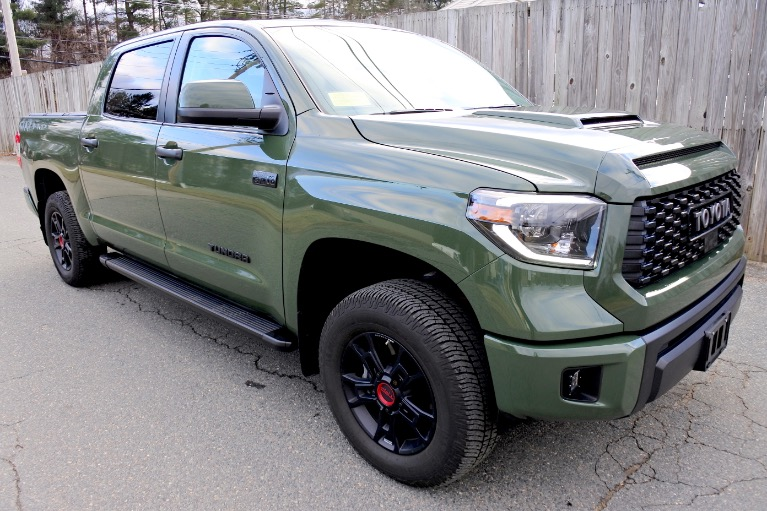 Used 2020 Toyota Tundra 4wd TRD Pro CrewMax 5.5'' Bed 5.7L Used 2020 Toyota Tundra 4wd TRD Pro CrewMax 5.5'' Bed 5.7L for sale  at Metro West Motorcars LLC in Shrewsbury MA 7