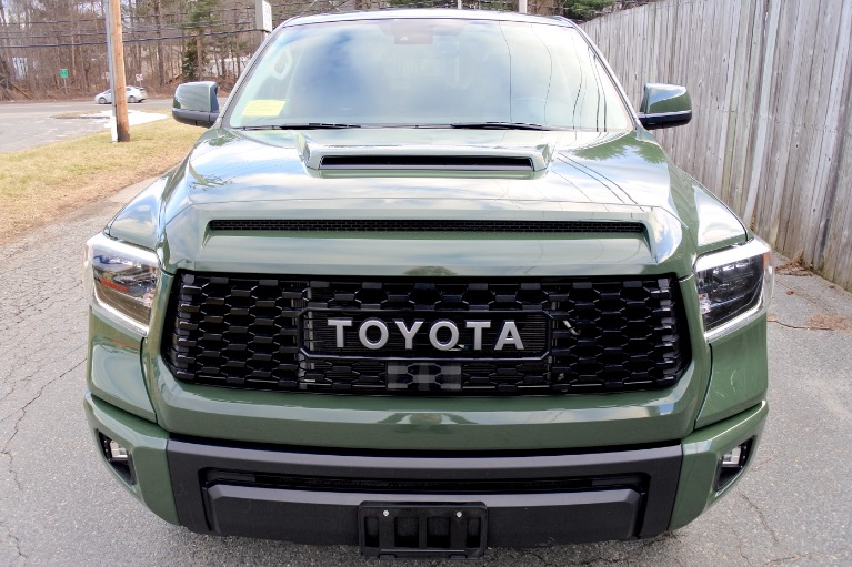 Used 2020 Toyota Tundra 4wd TRD Pro CrewMax 5.5'' Bed 5.7L Used 2020 Toyota Tundra 4wd TRD Pro CrewMax 5.5'' Bed 5.7L for sale  at Metro West Motorcars LLC in Shrewsbury MA 8
