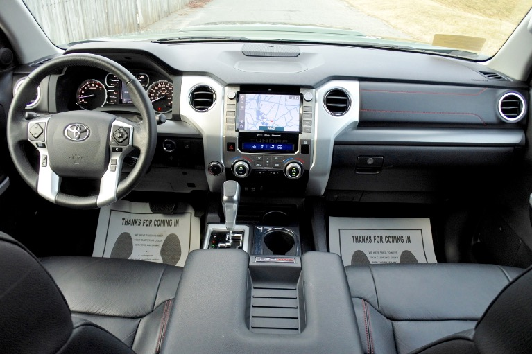Used 2020 Toyota Tundra 4wd TRD Pro CrewMax 5.5'' Bed 5.7L Used 2020 Toyota Tundra 4wd TRD Pro CrewMax 5.5'' Bed 5.7L for sale  at Metro West Motorcars LLC in Shrewsbury MA 9