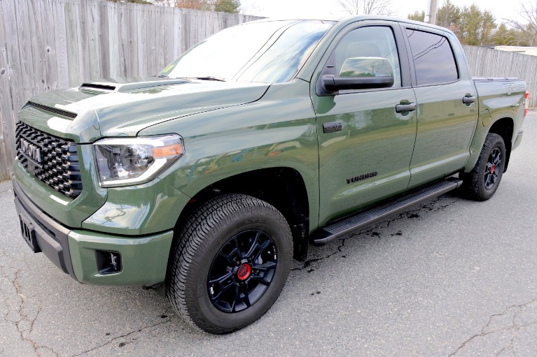 Used 2020 Toyota Tundra 4wd TRD Pro CrewMax 5.5'' Bed 5.7L Used 2020 Toyota Tundra 4wd TRD Pro CrewMax 5.5'' Bed 5.7L for sale  at Metro West Motorcars LLC in Shrewsbury MA 1