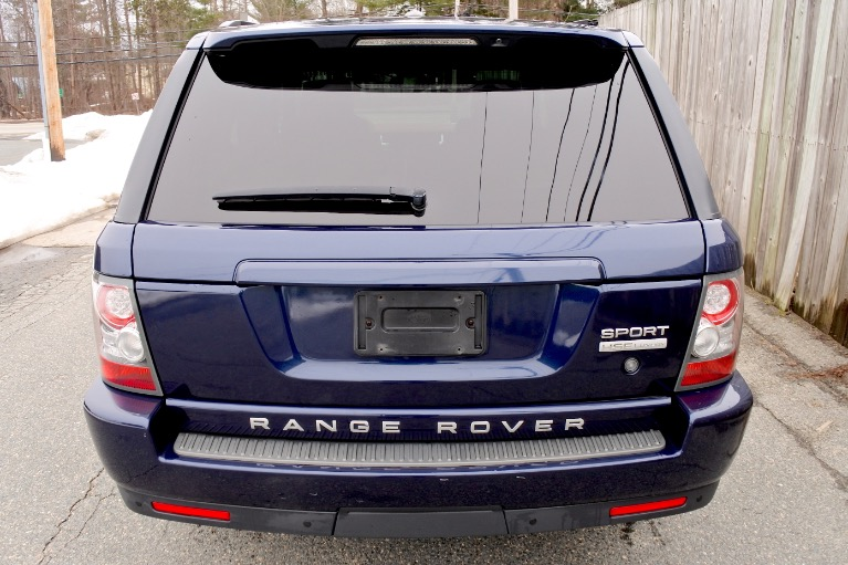 Used 2011 Land Rover Range Rover Sport HSE LUX Used 2011 Land Rover Range Rover Sport HSE LUX for sale  at Metro West Motorcars LLC in Shrewsbury MA 4
