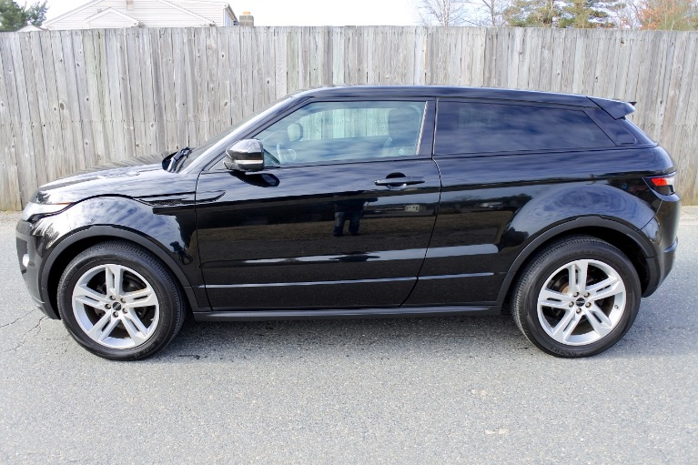 Used 2012 Land Rover Range Rover Evoque Coupe Dynamic Premium Used 2012 Land Rover Range Rover Evoque Coupe Dynamic Premium for sale  at Metro West Motorcars LLC in Shrewsbury MA 2
