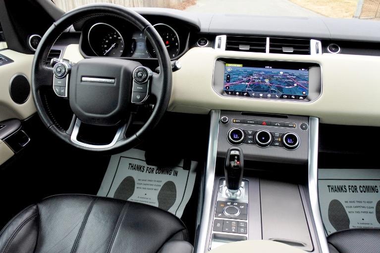 Used 2017 Land Rover Range Rover Sport HSE Used 2017 Land Rover Range Rover Sport HSE for sale  at Metro West Motorcars LLC in Shrewsbury MA 10