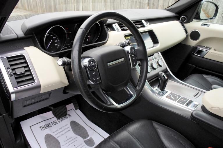 Used 2017 Land Rover Range Rover Sport HSE Used 2017 Land Rover Range Rover Sport HSE for sale  at Metro West Motorcars LLC in Shrewsbury MA 13