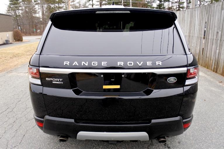 Used 2017 Land Rover Range Rover Sport HSE Used 2017 Land Rover Range Rover Sport HSE for sale  at Metro West Motorcars LLC in Shrewsbury MA 4