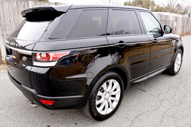 Used 2017 Land Rover Range Rover Sport HSE Used 2017 Land Rover Range Rover Sport HSE for sale  at Metro West Motorcars LLC in Shrewsbury MA 5