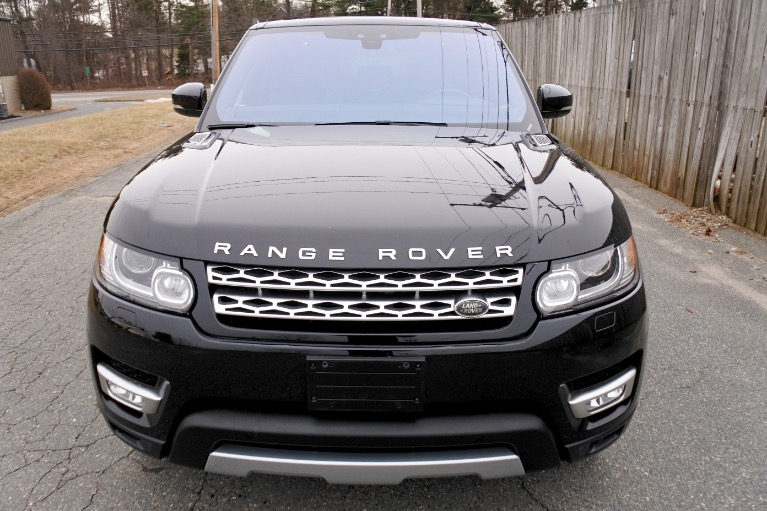 Used 2017 Land Rover Range Rover Sport HSE Used 2017 Land Rover Range Rover Sport HSE for sale  at Metro West Motorcars LLC in Shrewsbury MA 8