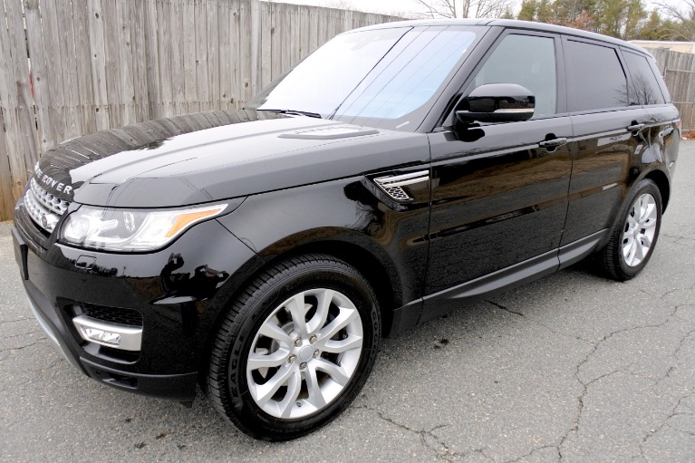 Used Used 2017 Land Rover Range Rover Sport HSE for sale $39,800 at Metro West Motorcars LLC in Shrewsbury MA