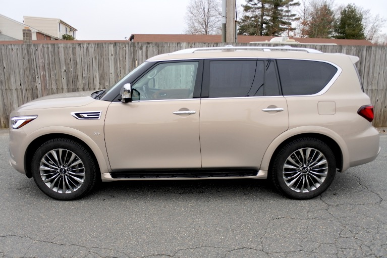 Used 2019 Infiniti Qx80 LUXE AWD Used 2019 Infiniti Qx80 LUXE AWD for sale  at Metro West Motorcars LLC in Shrewsbury MA 2