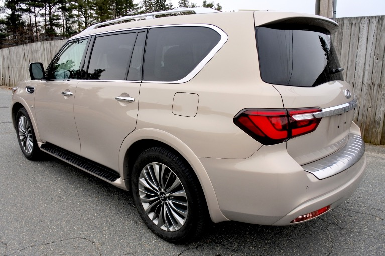 Used 2019 Infiniti Qx80 LUXE AWD Used 2019 Infiniti Qx80 LUXE AWD for sale  at Metro West Motorcars LLC in Shrewsbury MA 3