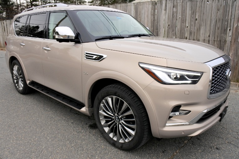 Used 2019 Infiniti Qx80 LUXE AWD Used 2019 Infiniti Qx80 LUXE AWD for sale  at Metro West Motorcars LLC in Shrewsbury MA 7