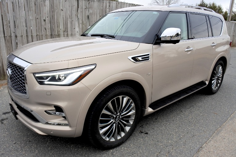 Used 2019 Infiniti Qx80 LUXE AWD Used 2019 Infiniti Qx80 LUXE AWD for sale  at Metro West Motorcars LLC in Shrewsbury MA 1
