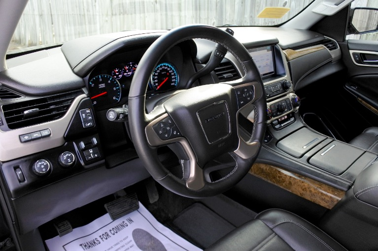 Used 2017 GMC Yukon Denali 4WD Used 2017 GMC Yukon Denali 4WD for sale  at Metro West Motorcars LLC in Shrewsbury MA 12