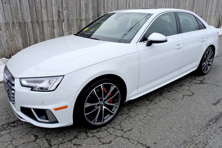 Used Used 2019 Audi S4 Premium Plus 3.0 Quattro for sale $45,800 at Metro West Motorcars LLC in Shrewsbury MA