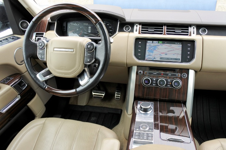 Used 2016 Land Rover Range Rover Supercharged Used 2016 Land Rover Range Rover Supercharged for sale  at Metro West Motorcars LLC in Shrewsbury MA 10