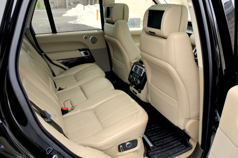Used 2016 Land Rover Range Rover Supercharged Used 2016 Land Rover Range Rover Supercharged for sale  at Metro West Motorcars LLC in Shrewsbury MA 20