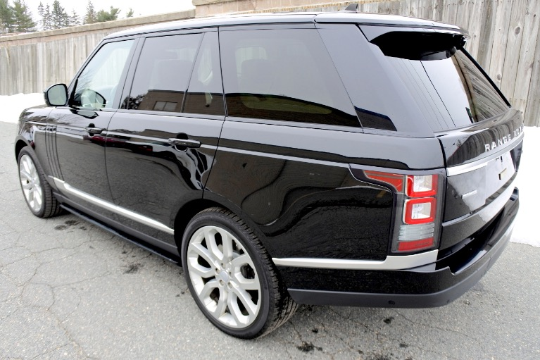 Used 2016 Land Rover Range Rover Supercharged Used 2016 Land Rover Range Rover Supercharged for sale  at Metro West Motorcars LLC in Shrewsbury MA 3