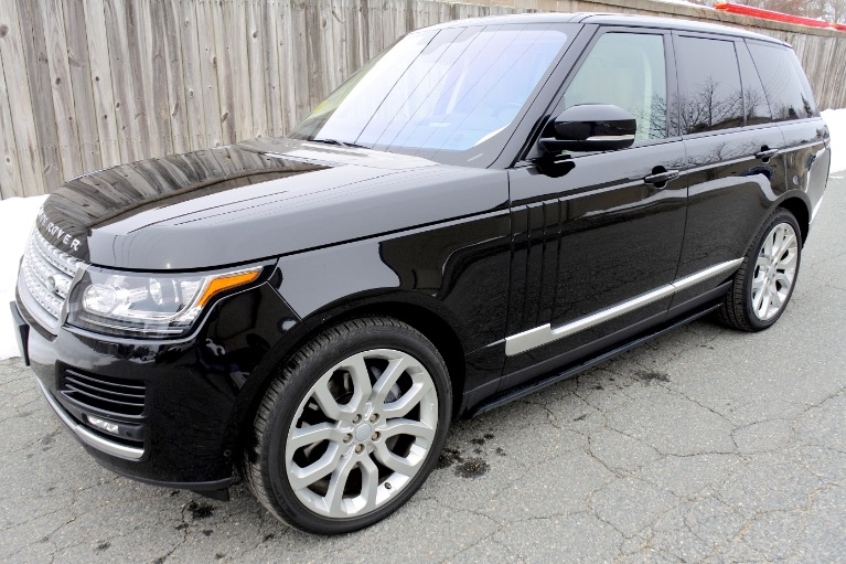 Used 2016 Land Rover Range Rover Supercharged Used 2016 Land Rover Range Rover Supercharged for sale  at Metro West Motorcars LLC in Shrewsbury MA 1