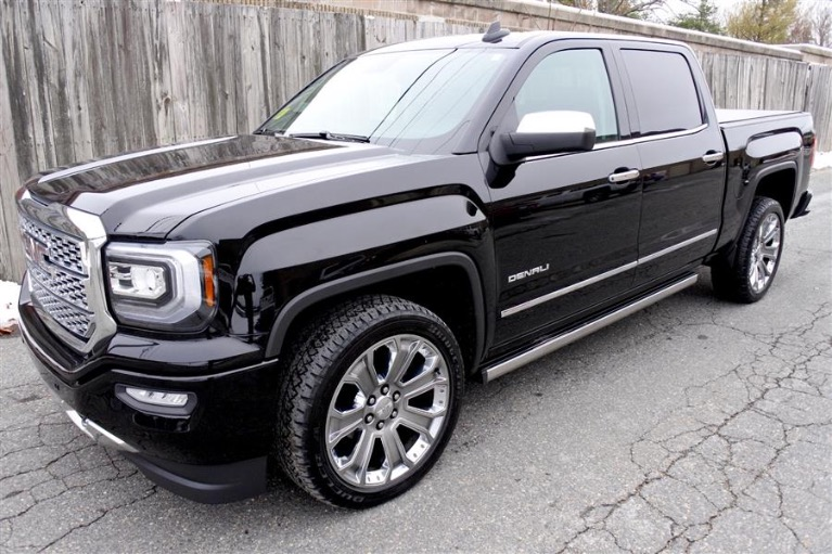 Used Used 2016 GMC Sierra 1500 4WD Crew Cab 143.5' Denali for sale Call for price at Metro West Motorcars LLC in Shrewsbury MA