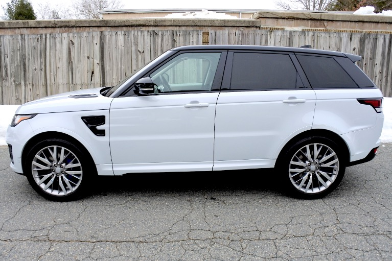 Used 2017 Land Rover Range Rover Sport V8 Supercharged SVR Used 2017 Land Rover Range Rover Sport V8 Supercharged SVR for sale  at Metro West Motorcars LLC in Shrewsbury MA 2