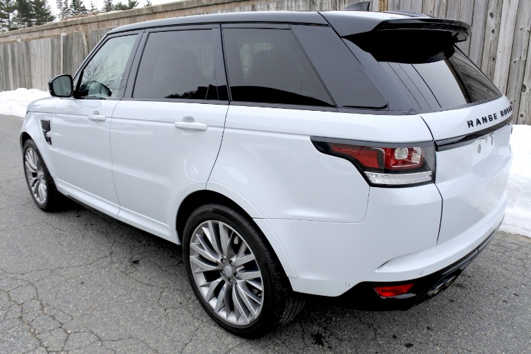 Used 2017 Land Rover Range Rover Sport V8 Supercharged SVR Used 2017 Land Rover Range Rover Sport V8 Supercharged SVR for sale  at Metro West Motorcars LLC in Shrewsbury MA 3