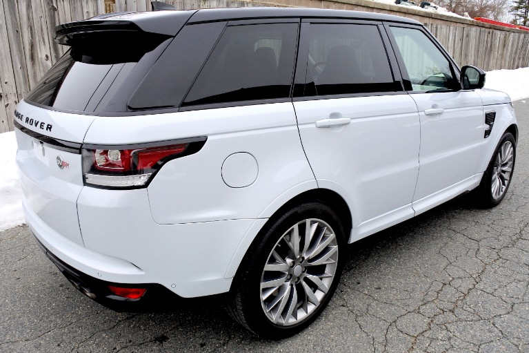 Used 2017 Land Rover Range Rover Sport V8 Supercharged SVR Used 2017 Land Rover Range Rover Sport V8 Supercharged SVR for sale  at Metro West Motorcars LLC in Shrewsbury MA 5