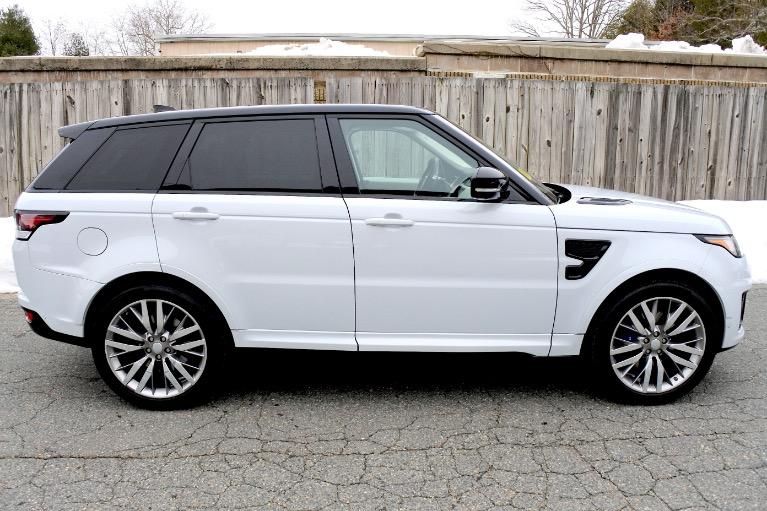 Used 2017 Land Rover Range Rover Sport V8 Supercharged SVR Used 2017 Land Rover Range Rover Sport V8 Supercharged SVR for sale  at Metro West Motorcars LLC in Shrewsbury MA 6