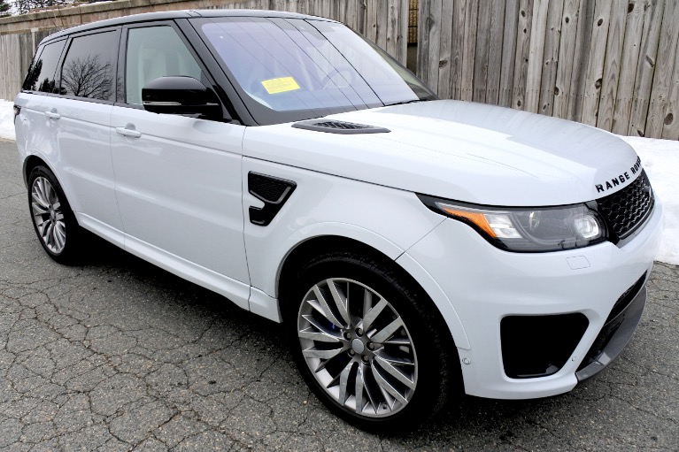 Used 2017 Land Rover Range Rover Sport V8 Supercharged SVR Used 2017 Land Rover Range Rover Sport V8 Supercharged SVR for sale  at Metro West Motorcars LLC in Shrewsbury MA 7