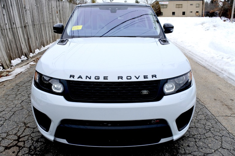 Used 2017 Land Rover Range Rover Sport V8 Supercharged SVR Used 2017 Land Rover Range Rover Sport V8 Supercharged SVR for sale  at Metro West Motorcars LLC in Shrewsbury MA 8