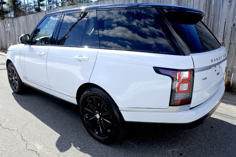 Used 2014 Land Rover Range Rover HSE Used 2014 Land Rover Range Rover HSE for sale  at Metro West Motorcars LLC in Shrewsbury MA 3