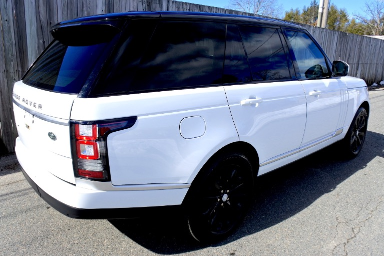 Used 2014 Land Rover Range Rover HSE Used 2014 Land Rover Range Rover HSE for sale  at Metro West Motorcars LLC in Shrewsbury MA 5