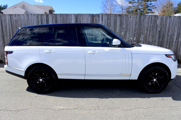 Used 2014 Land Rover Range Rover HSE Used 2014 Land Rover Range Rover HSE for sale  at Metro West Motorcars LLC in Shrewsbury MA 6