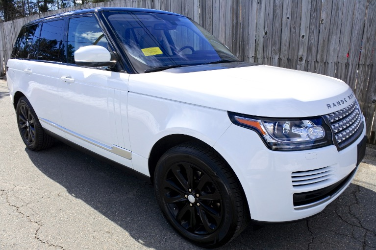 Used 2014 Land Rover Range Rover HSE Used 2014 Land Rover Range Rover HSE for sale  at Metro West Motorcars LLC in Shrewsbury MA 7