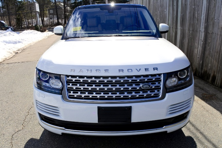 Used 2014 Land Rover Range Rover HSE Used 2014 Land Rover Range Rover HSE for sale  at Metro West Motorcars LLC in Shrewsbury MA 8