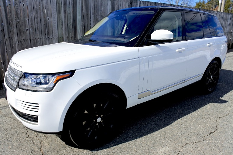 Used Used 2014 Land Rover Range Rover HSE for sale $33,800 at Metro West Motorcars LLC in Shrewsbury MA