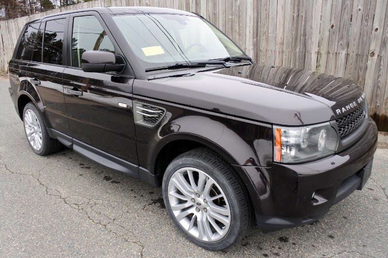 Used 2011 Land Rover Range Rover Sport HSE LUX Used 2011 Land Rover Range Rover Sport HSE LUX for sale  at Metro West Motorcars LLC in Shrewsbury MA 7