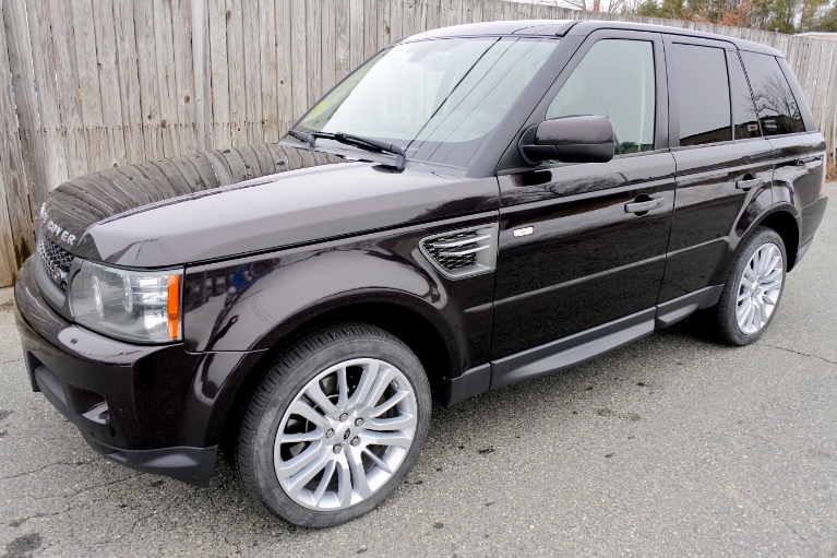 Used 2011 Land Rover Range Rover Sport HSE LUX Used 2011 Land Rover Range Rover Sport HSE LUX for sale  at Metro West Motorcars LLC in Shrewsbury MA 1