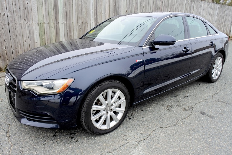 Used Used 2013 Audi A6 3.0T Premium Plus Quattro for sale $18,800 at Metro West Motorcars LLC in Shrewsbury MA