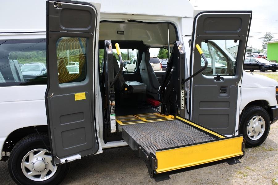 Used 2013 Ford Econoline E-250 Wheelchair Van Used 2013 Ford Econoline E-250 Wheelchair Van for sale  at Metro West Motorcars LLC in Shrewsbury MA 17