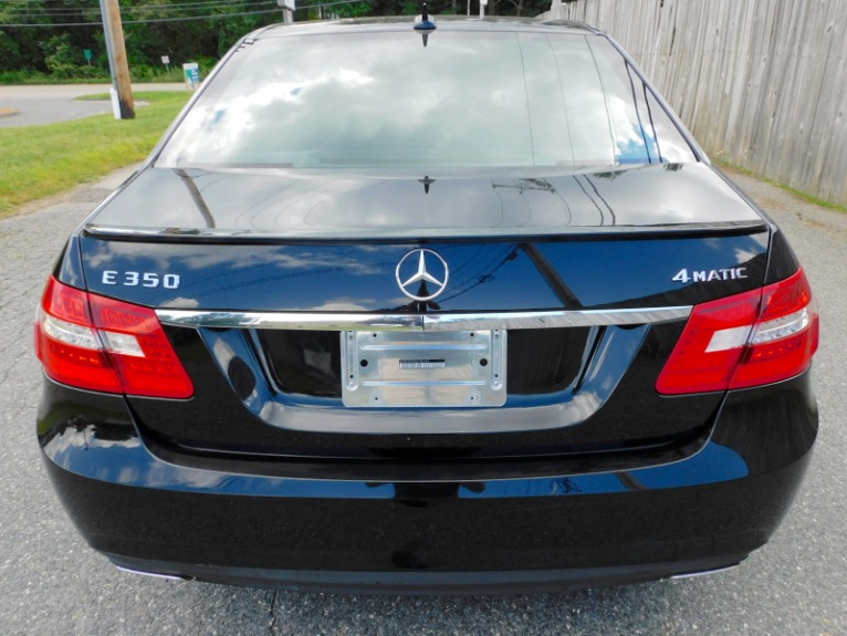 Used 2012 Mercedes-Benz E-class E350 Sport 4MATIC Used 2012 Mercedes-Benz E-class E350 Sport 4MATIC for sale  at Metro West Motorcars LLC in Shrewsbury MA 4