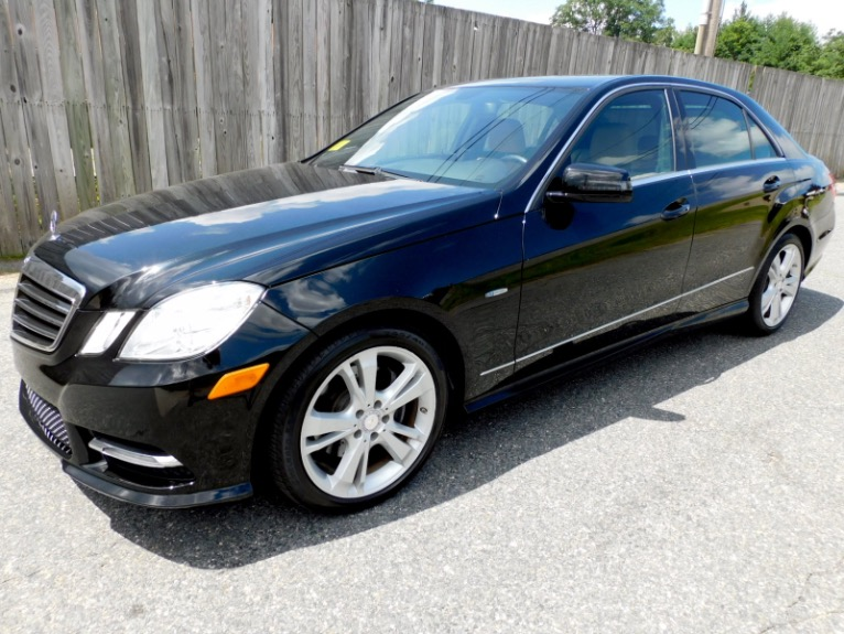 Used Used 2012 Mercedes-Benz E-class E350 Sport 4MATIC for sale $17,800 at Metro West Motorcars LLC in Shrewsbury MA