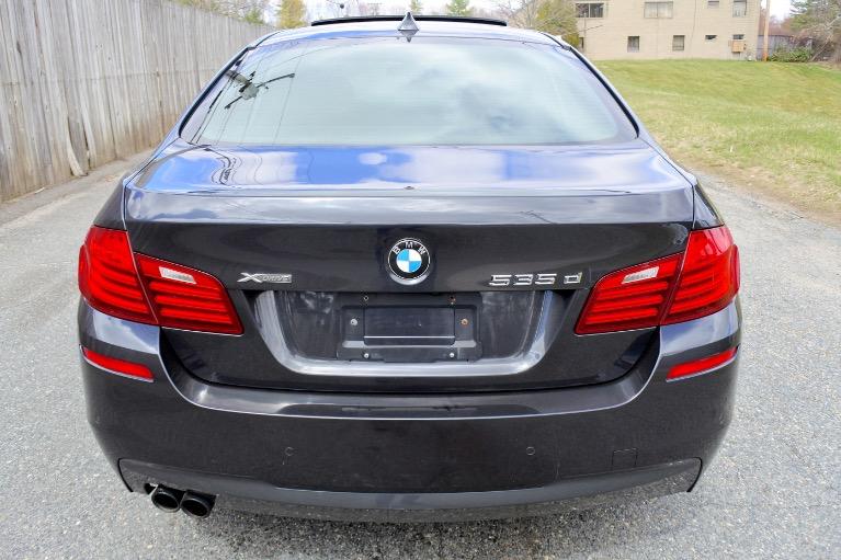 Used 2014 BMW 5 Series 535d xDrive M Sport AWD Used 2014 BMW 5 Series 535d xDrive M Sport AWD for sale  at Metro West Motorcars LLC in Shrewsbury MA 4