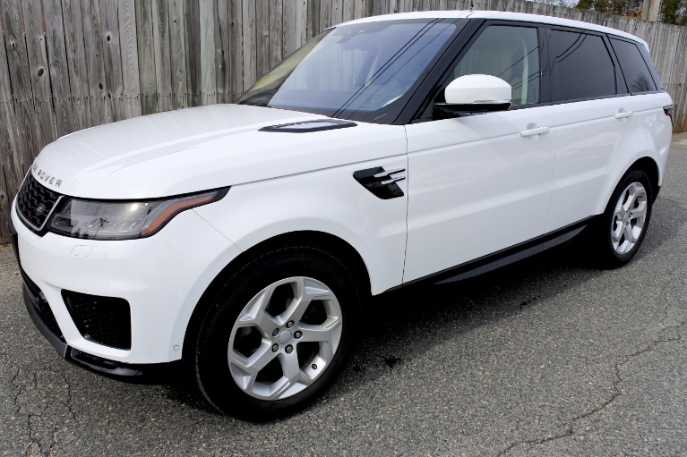 Used Used 2018 Land Rover Range Rover Sport HSE Td6 for sale $56,800 at Metro West Motorcars LLC in Shrewsbury MA
