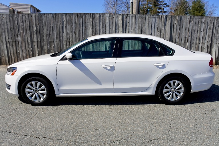 Used 2013 Volkswagen Passat S 2.5 PZEV Used 2013 Volkswagen Passat S 2.5 PZEV for sale  at Metro West Motorcars LLC in Shrewsbury MA 2